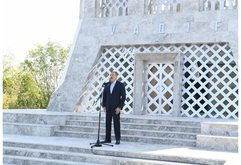 Президент Ильхам Алиев: По моему указанию это дьявольское гнездо было полностью разрушено