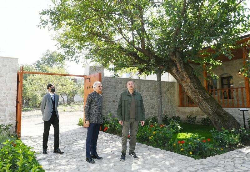 Президент Азербайджана: Полад Бюльбюльоглу восстановил дом своего отца