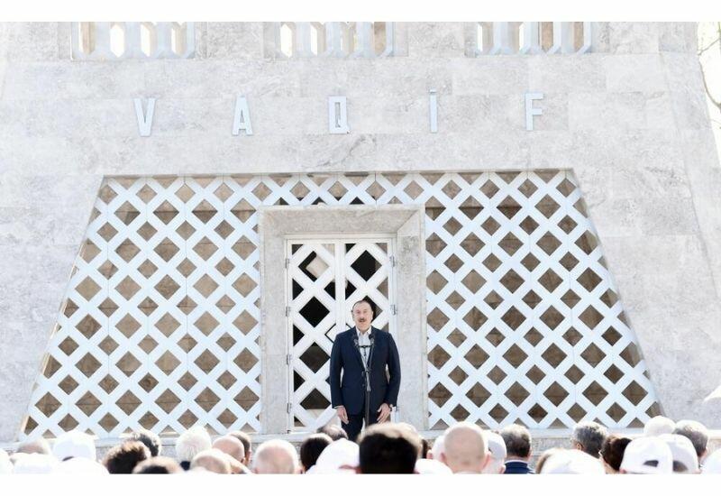 Президент Ильхам Алиев: Нынешний ход событий, период Второй Карабахской войны и действия международных сил показывают, что этот вопрос никогда не решился бы путем переговоров