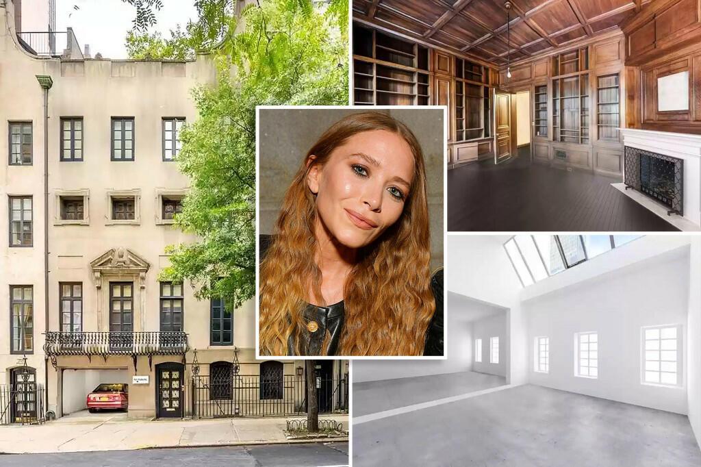 Дом Мэри-Кейт Олсен после ее развода выставлен на продажу за $11,5 млн