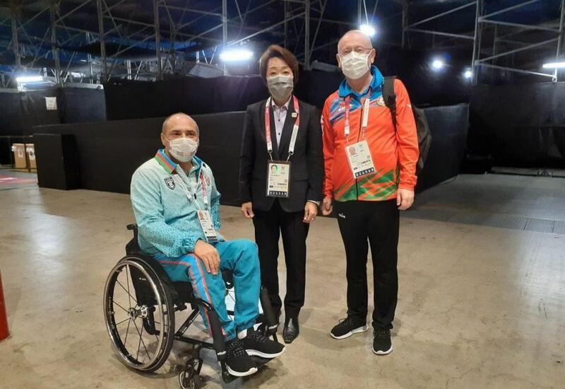 Глава Оргкомитета Паралимпиады выразила восхищение результатами азербайджанских спортсменов