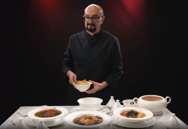 """Суп с колбасой в рубрике Сталика Ханкишиева """"Я не умею готовить"""""""