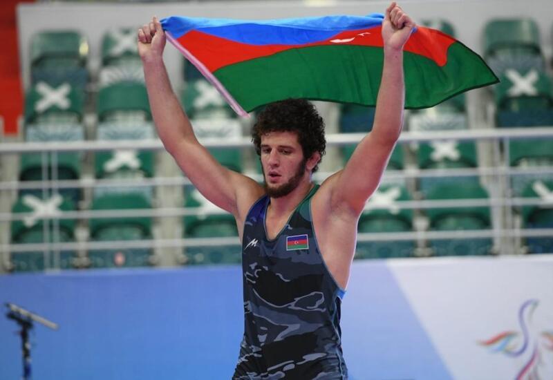 Азербайджанские борцы завоевали 7 медалей в Казани