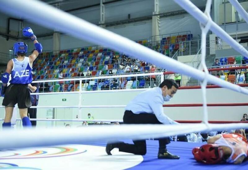 Вот как азербайджанский боец нокаутировал соперника-армянина