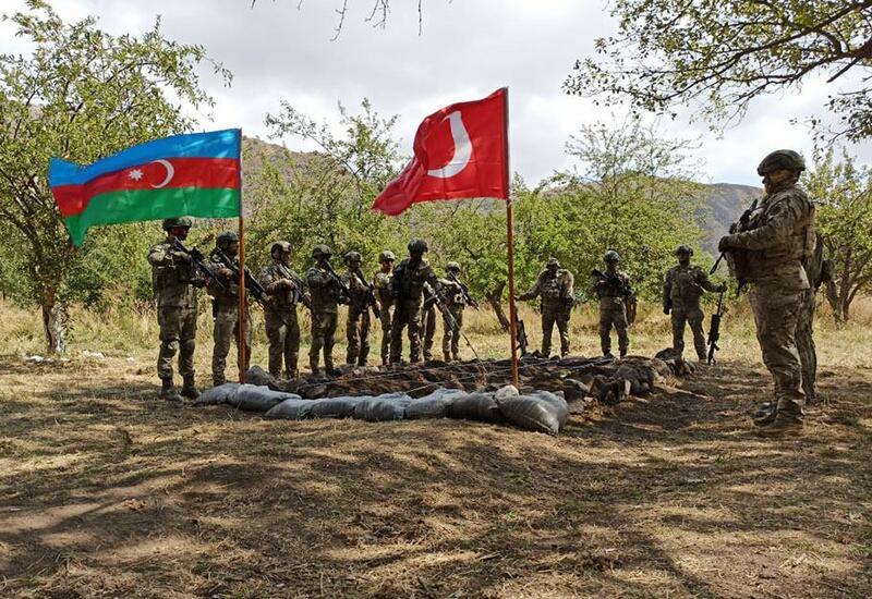 Совместные тактические учения Азербайджана и Турции в Лачине служат обеспечению стабильности в регионе
