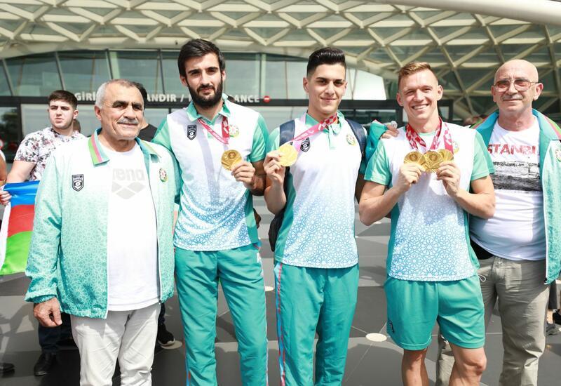 Из Токио в Азербайджан вернулась еще одна группа паралимпийцев