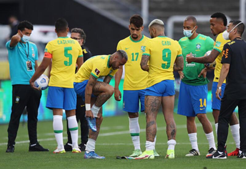ФИФА отреагировала на прерванный матч между Бразилией и Аргентиной