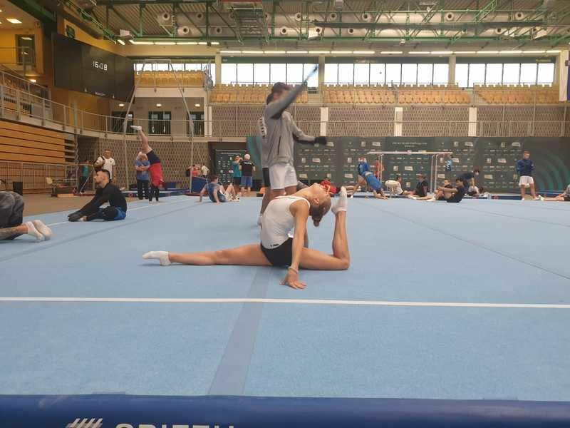 Азербайджанская гимнастка приняла участие в Кубке мира в Словении