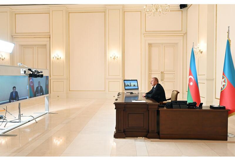 Президент Ильхам Алиев: Молодое поколение следует оградить от негативного внешнего влияния