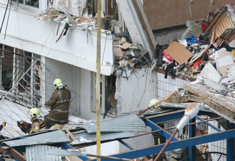 Тело второго погибшего извлекли из-под завалов после взрыва газа в доме в России