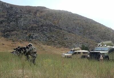 Азербайджанские и турецкие военные тренируются обнаруживать и уничтожать диверсионные группы - ВИДЕО