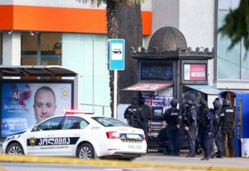 В Грузии освободили всех заложников из захваченного банка