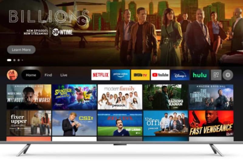 Amazon представила свои первые телевизоры
