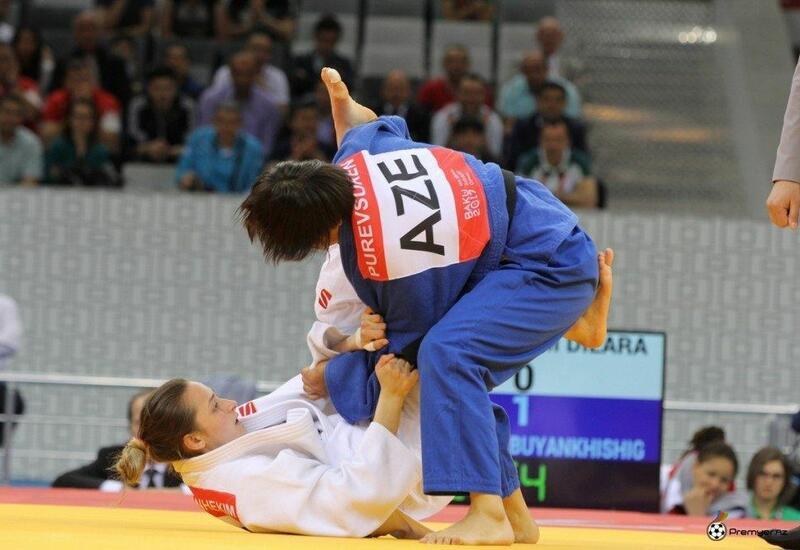 Азербайджанская дзюдоистка завоевала золото на Играх стран СНГ 2021