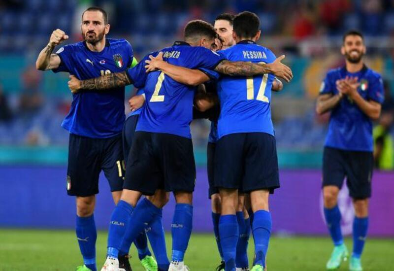 Сборная Италии по футболу продлила рекордную беспроигрышную серию до 37 матчей