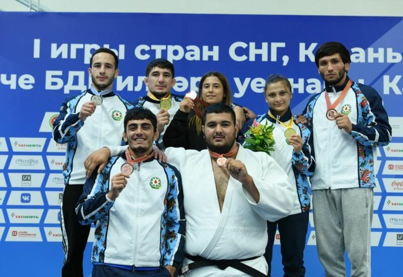 Азербайджанские дзюдоисты стали чемпионами Игр СНГ