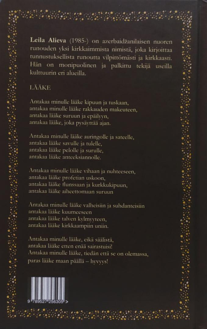 """Книга Лейлы Алиевой """"Открытое окно"""" издана на финском языке"""