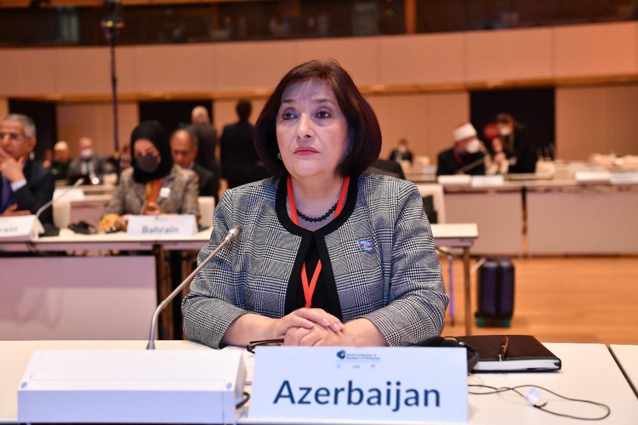 Сахиба Гафарова выступила на Глобальном саммите по борьбе с терроризмом