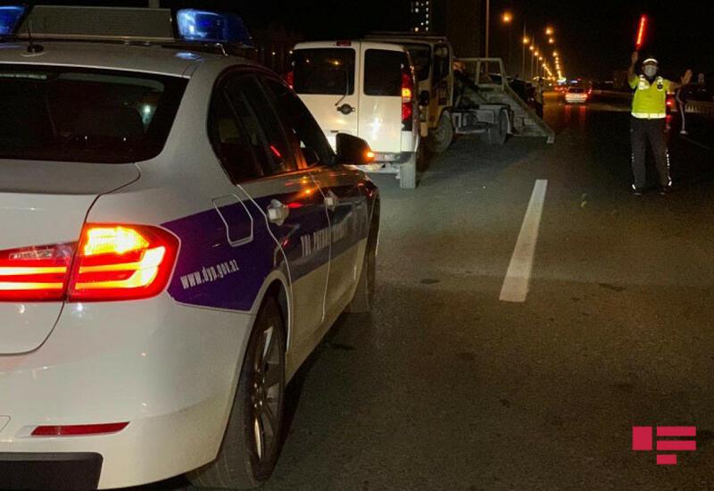 В Баку автомобиль ДПС сбил насмерть женщину