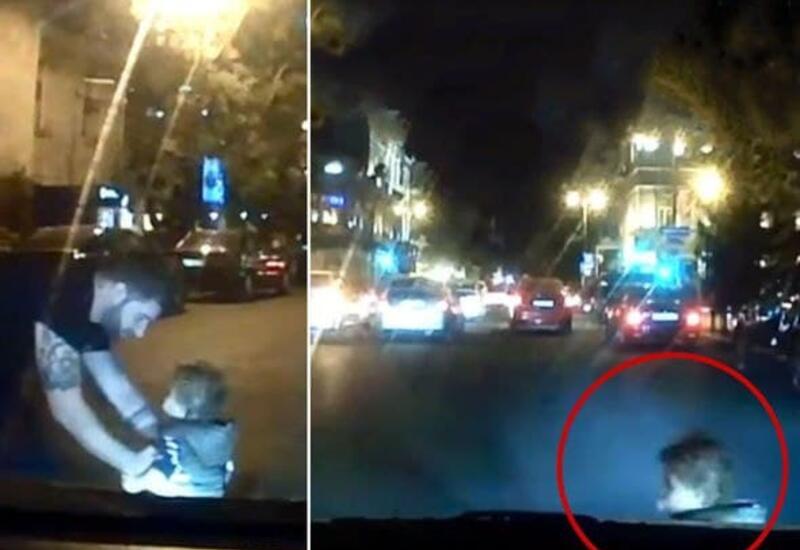 В Баку невнимательность родителей могла обернуться трагедией
