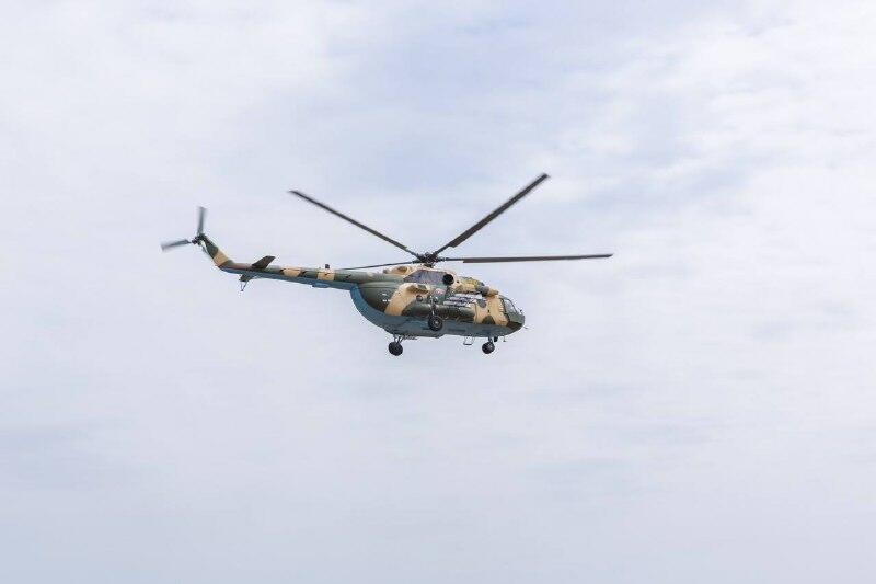 В Азербайджане завершен капитальный ремонт еще одного вертолета