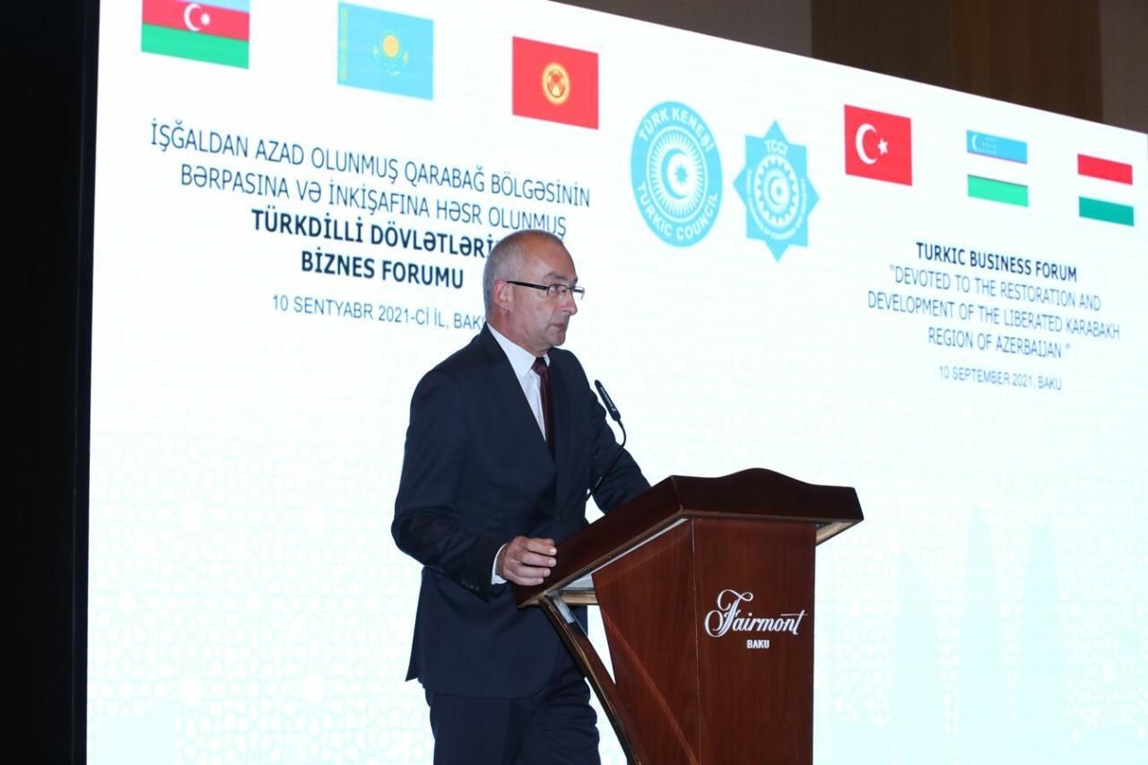 Состоялся бизнес-форум, посвященный восстановлению Карабаха