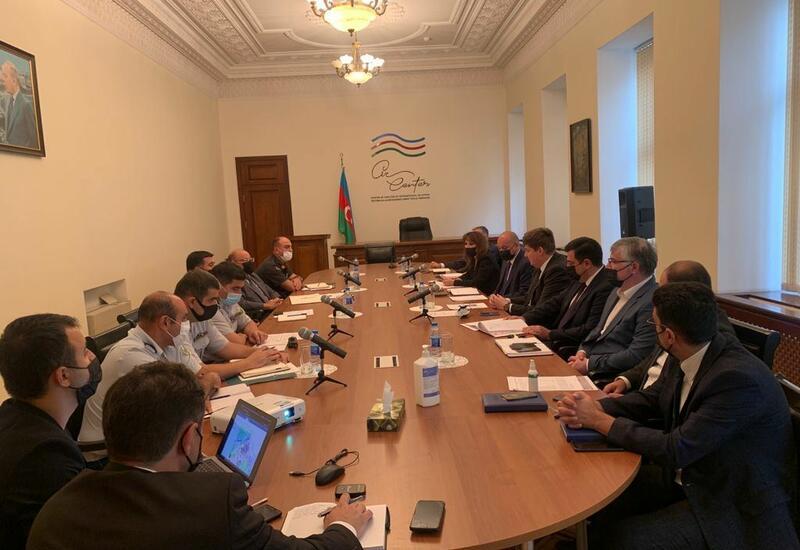 Рабочая группа по очистке от мин и неразорвавшихся боеприпасов освобожденных территорий Азербайджана провела обсуждения