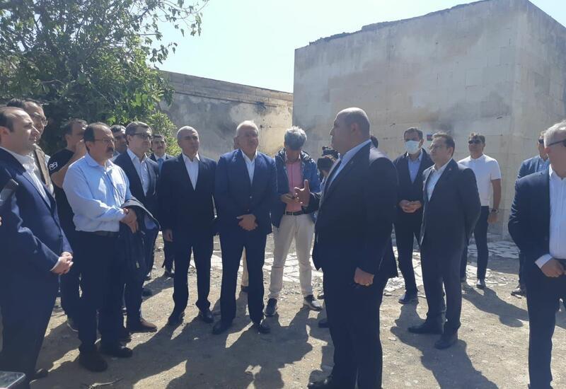 """Делегация Тюркского совета посетила комплекс """"Имарет"""" в Агдаме"""
