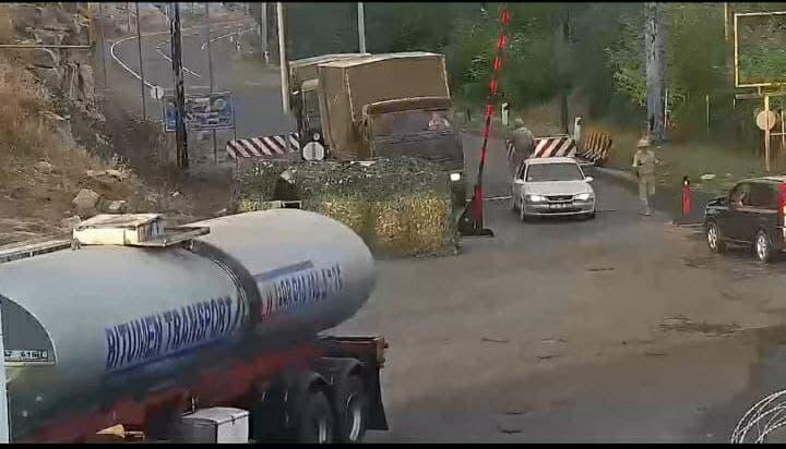 Иранские фуры продолжают незаконно въезжать в Карабах