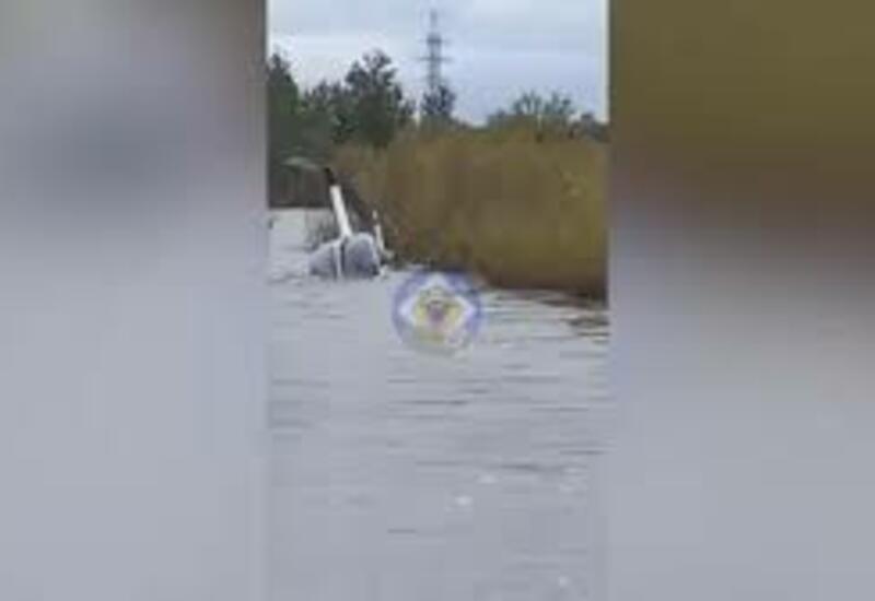 В Чите вертолет утонул в реке из-за ошибки в расчетах