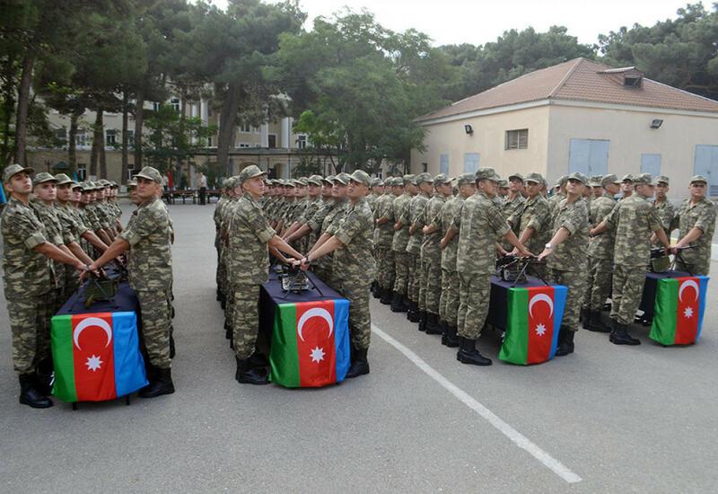 Состоялась церемония принятия присяги курсантами военно-медицинского факультета