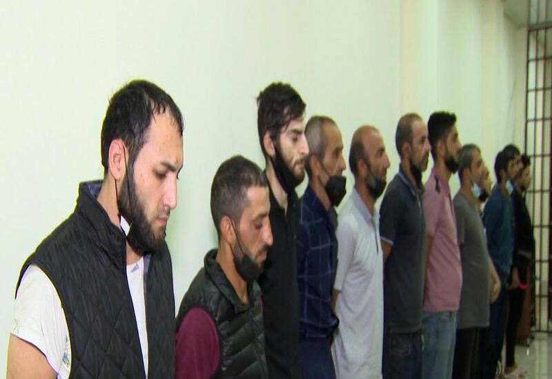 В Баку задержаны 12 наркоторговцев