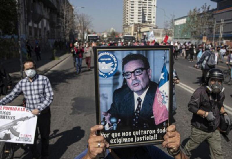 В Чили произошли столкновения в годовщину путча