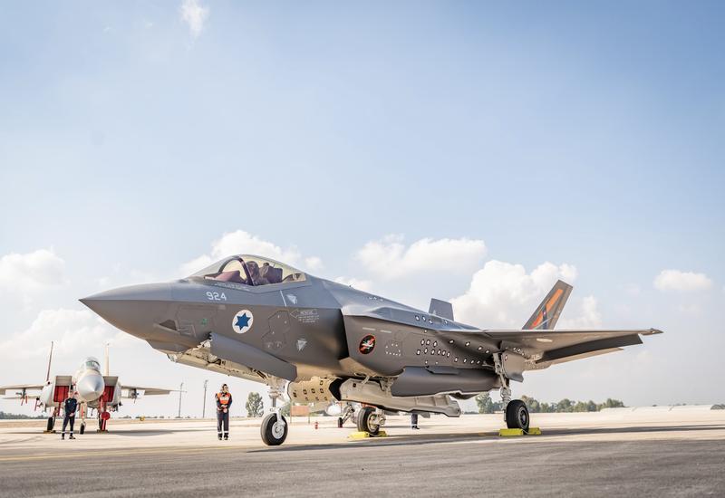 Командующий ВВС Израиля выполнил полет на истребителе-невидимке