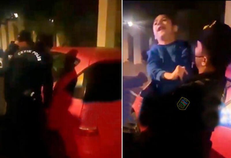 В Баку полицейские спасли ребенкa-инвалидa