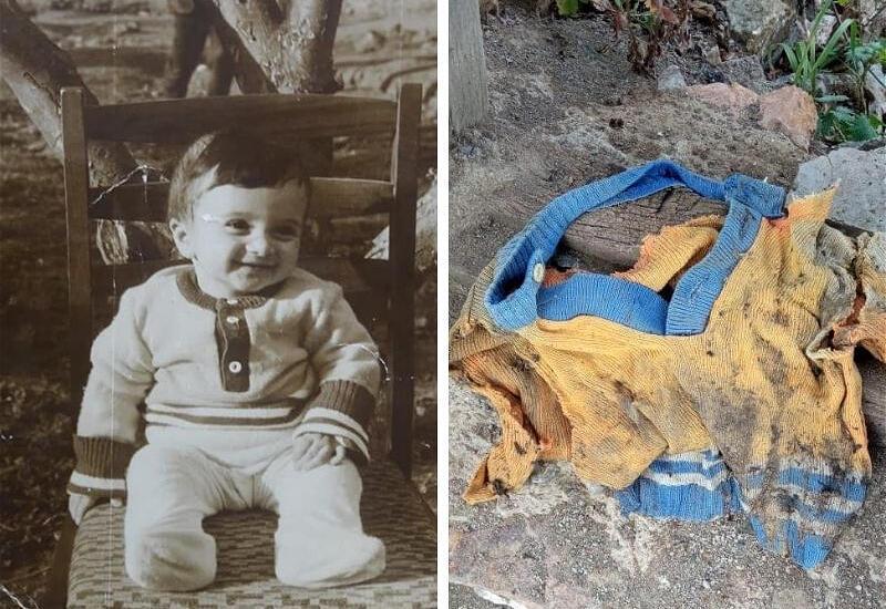 Невероятная история: житель Лачина нашел среди развалин домов свой детский жакет