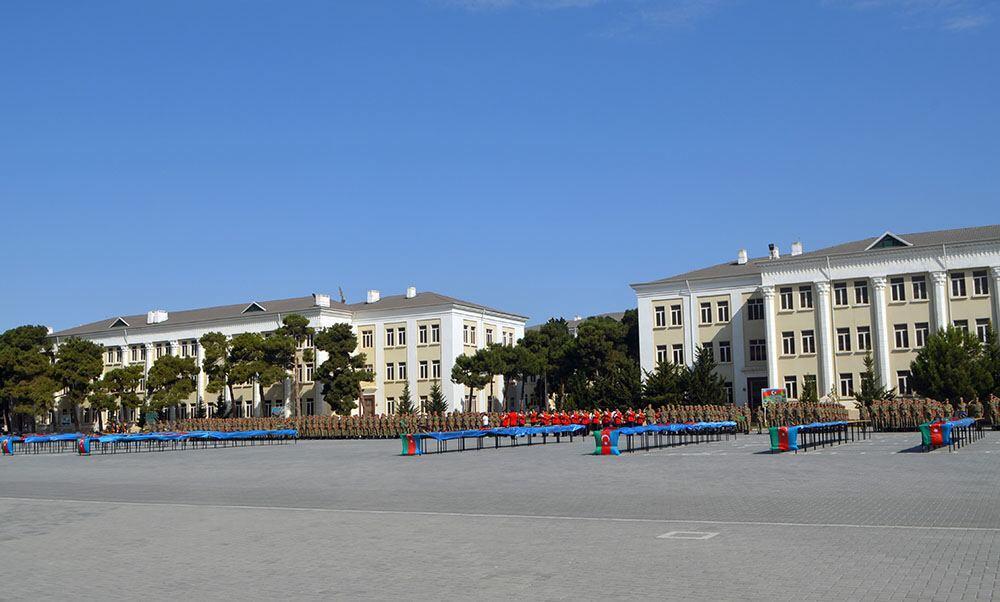 В Азербайджанском высшем военном училище имени Гейдара Алиева прошла церемония принятия военной присяги