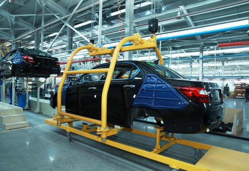 В августе в Азербайджане резко возросло производство автомобилей