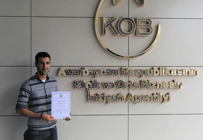 Еще 4 субъектам предпринимательства в Азербайджане выданы стартап-сертификаты
