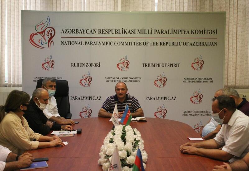 Азербайджанские паралимпийцы готовятся к играм в Париже