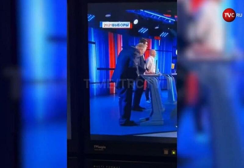 Жириновский потерял штаны во время предвыборных дебатов