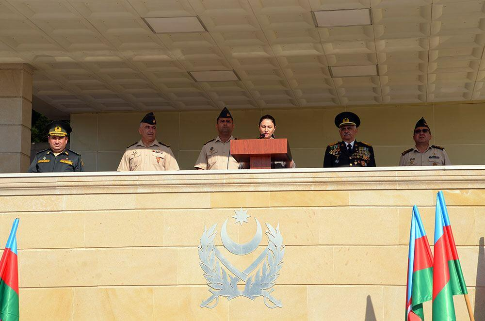 В военном лицее имени Дж. Нахчыванского состоялась церемония принятия присяги