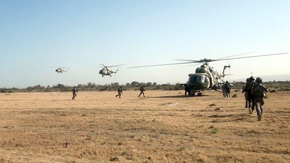 «Три брата – 2021»: Воздушно-десантная подготовка спецназа Азербайджана, Турции и Пакистана