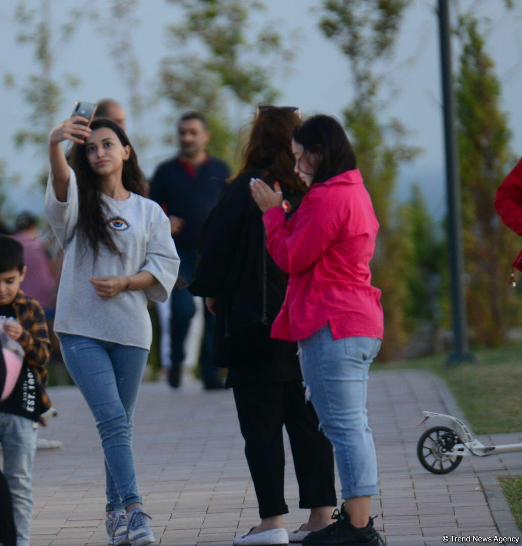 Парк «Гянджлик» - излюбленное место отдыха бакинцев и гостей столицы