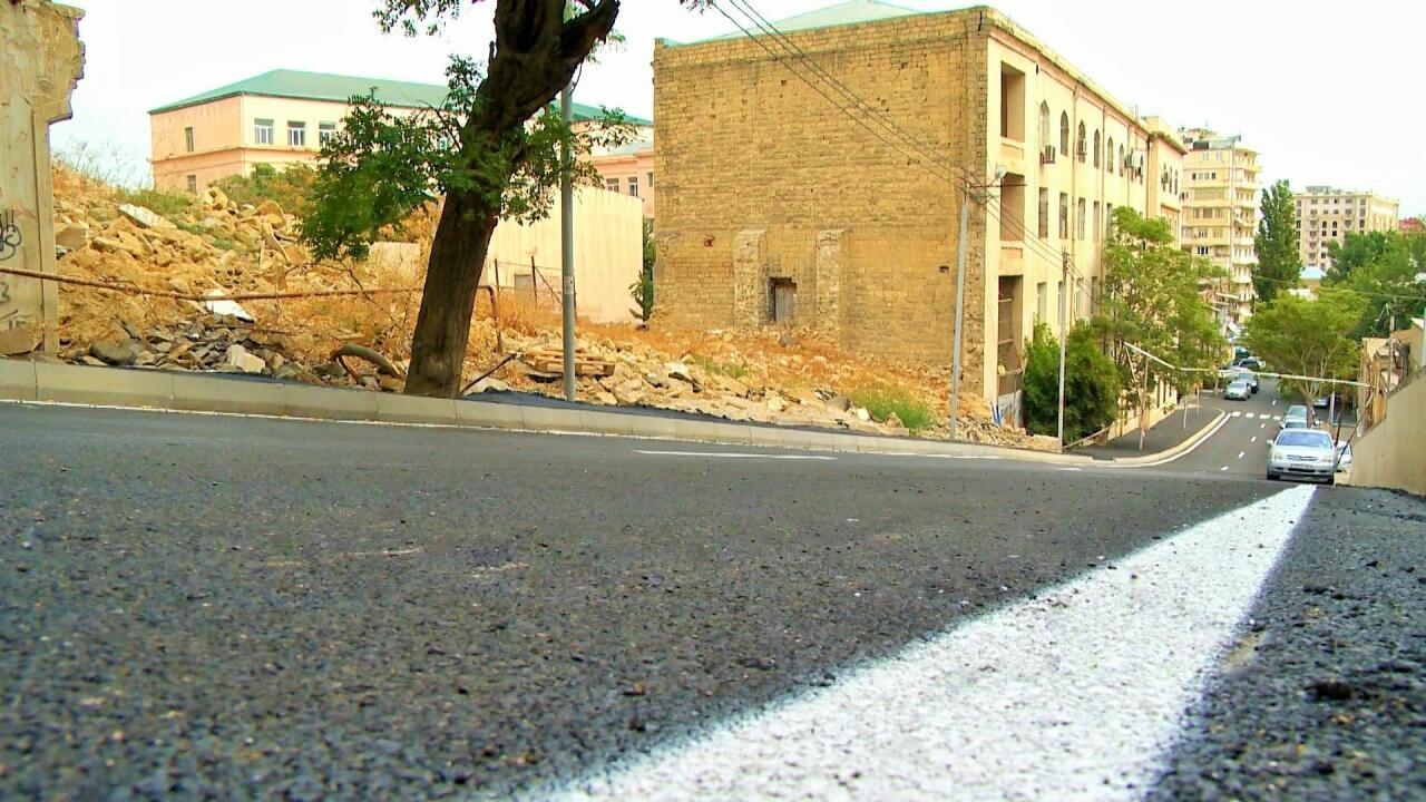 В Баку отремонтировали ряд улиц