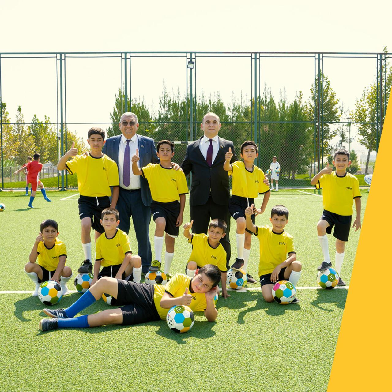 Yelo Bank поддержал школьников из села Джоджуг Марджанлы