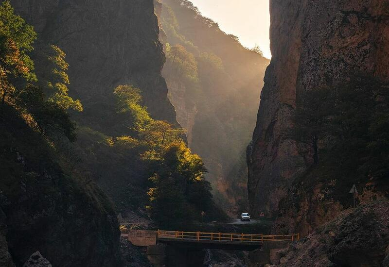 Ранняя осень в горах Азербайджана