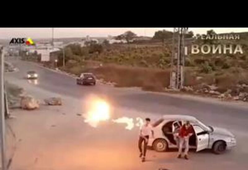 """Мужчина поджёг себя, пытаясь бросить """"коктейль Молотова"""" в израильских силовиков"""