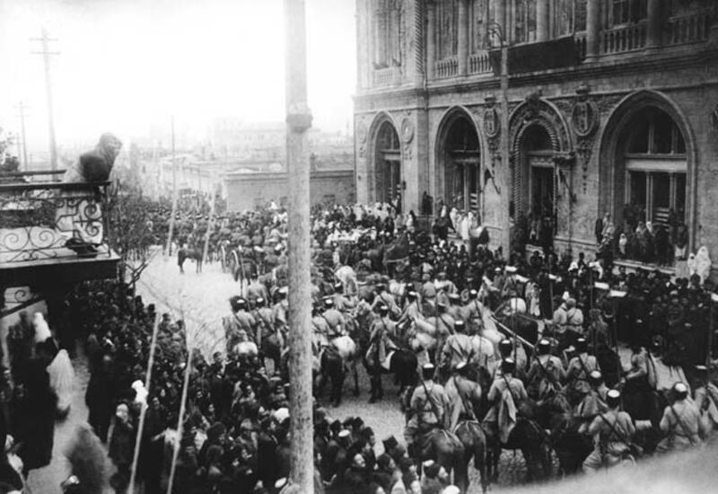 Исполняется 103 года со дня освобождения Баку Кавказской исламской армией