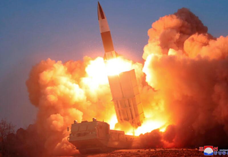 Северная Корея запустила еще одну ракету в сторону Японии